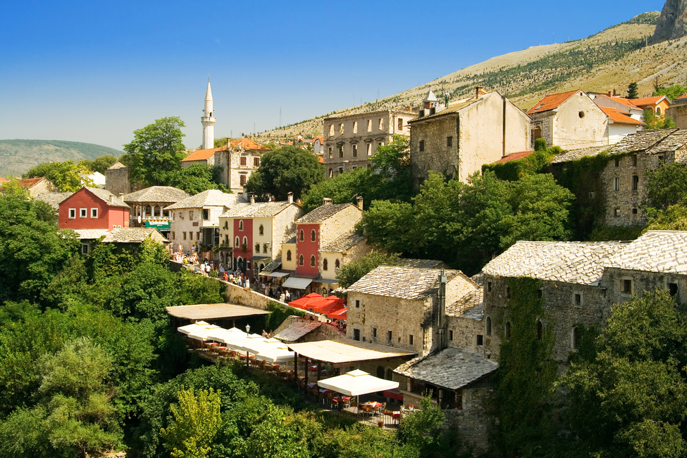 The old city Mostar - Bosnia and Herzegovina   © Vera Kailova/Shutterstock