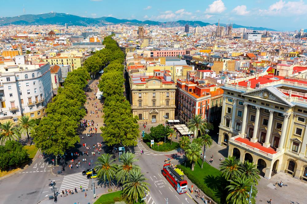The trendiest neighborhoods in barcelona for Ramblas barcellona
