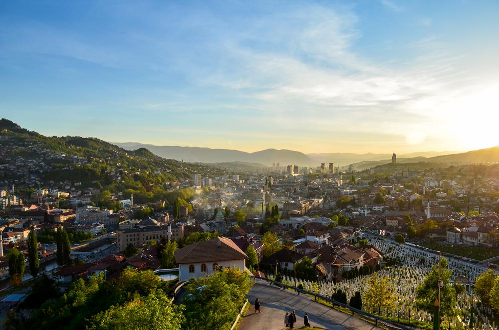 Sarajevo - Bosnia and Herzegovina © Adnan Vejzovic / Shutterstock