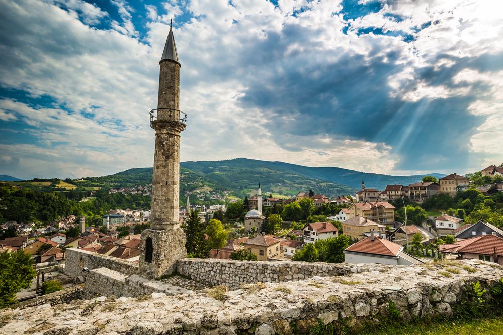 Travnik Fort, Bosnia © RPBaiao / Shutterstock