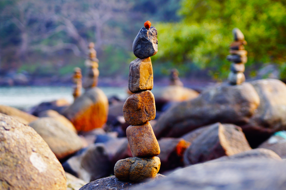Japanese rock garden on Palolem beach in Goa, India | © Pavel Laputskov/Shutterstock