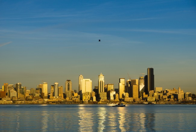 View of Seattle from Alki Beach | © Steve Ginn/Flickr