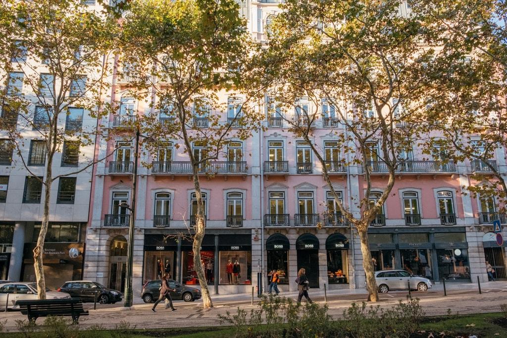 Watson - Portugal Lisbon- Avenida de Liberdade