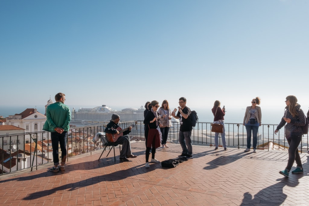 Watson - Portugal - Lisbon -Portas do Sol viewpoint, Alfama