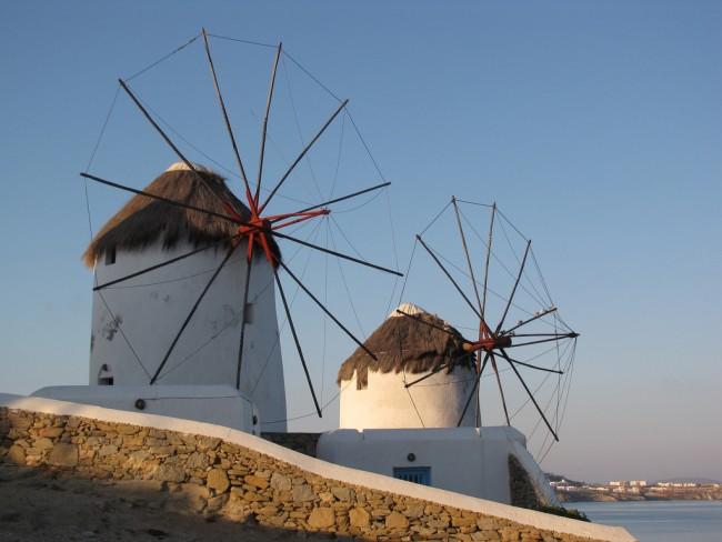 Windmills of Mykonos   © Dottie Day / Flickr