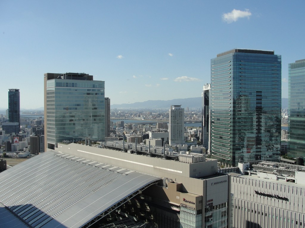 View of Osaka from Hankyu Building | ©RachelH_/Flickr