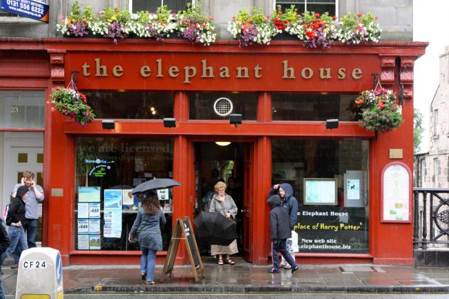 The Elephant House| ©Kyle Taylor/Flickr