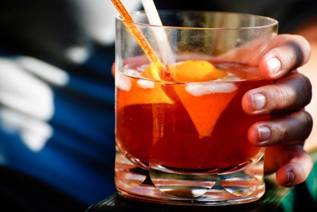 Cocktails Served at Amnesia   © Don LaVange/Flickr