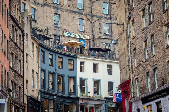 Victoria Street Edinburgh/ ©Pixabay