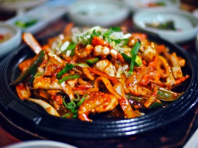 Stir Fried Baby Octopus © Chun Yip So / Flickr