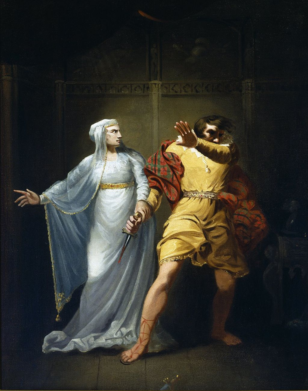 the role of the witches and lady macbeth in the death of duncan in the play macbeth by william shake