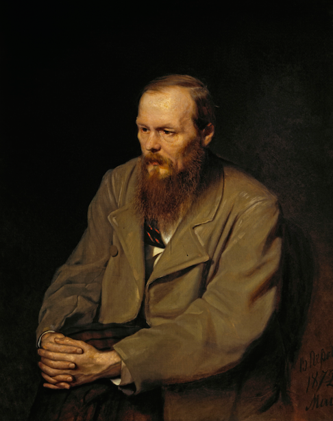 Portrait of Fyodor Dostoevsky by Vasiliy Perov ©Photographic reproduction | WikiCommons