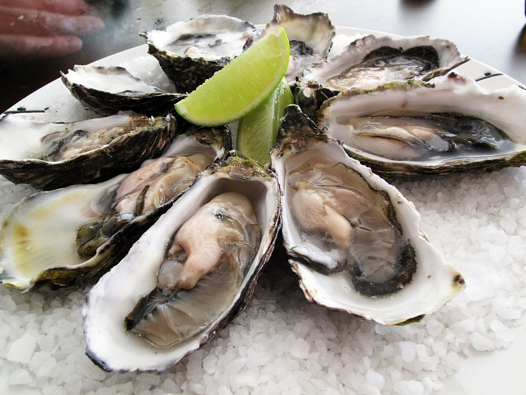 Pacific Oysters © Guido/Wikicommons