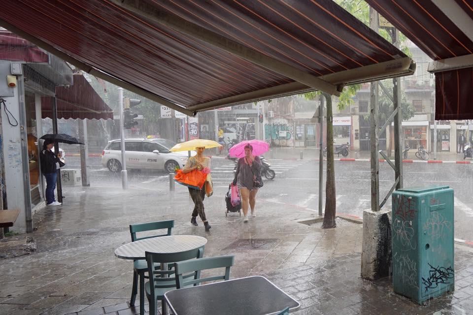 Rainy Winter in Tel Aviv by Ido Biran/Tel-Avivi
