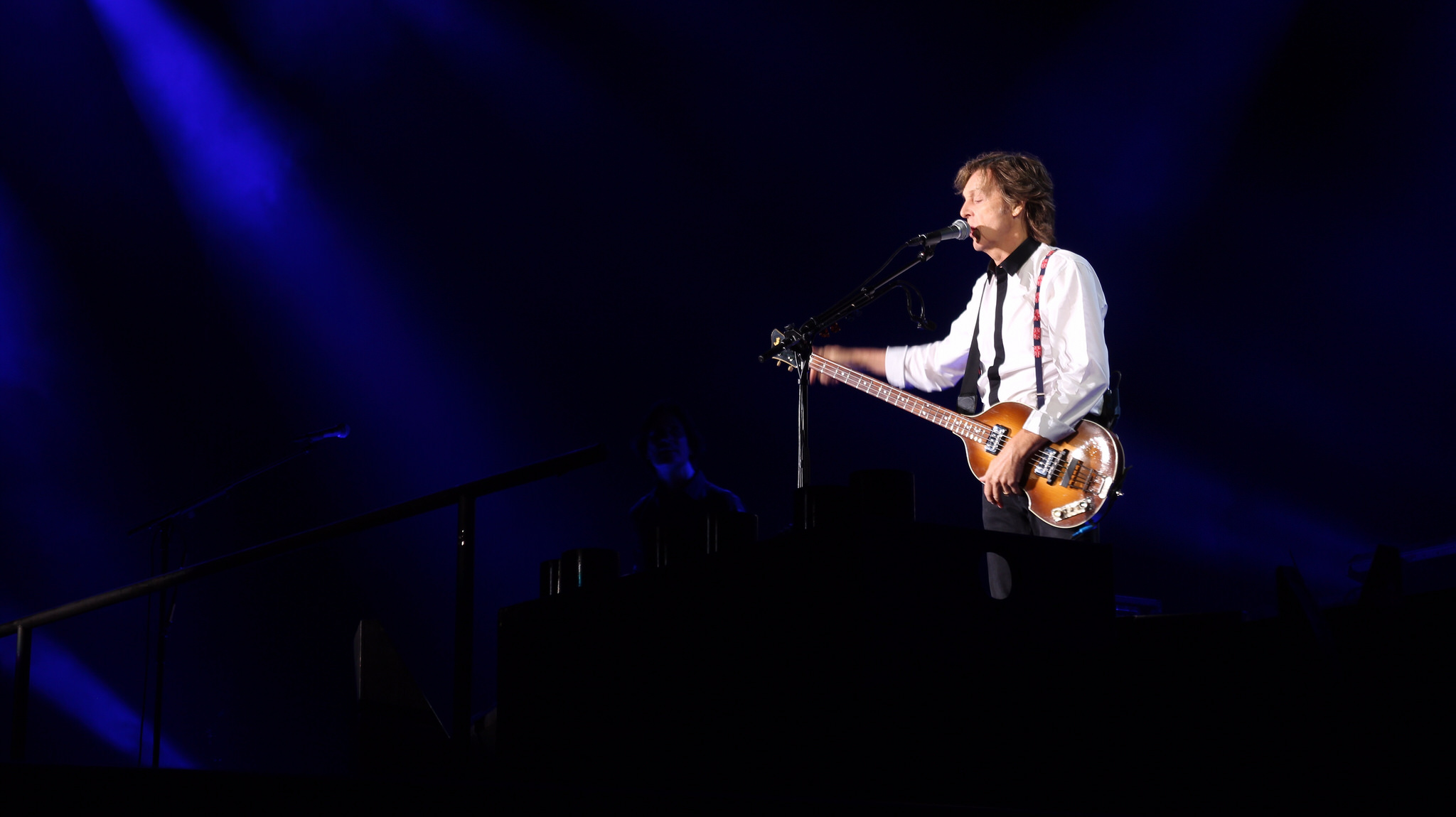 Paul McCartney at Candlestick Park © Phil Sherry/ flickr