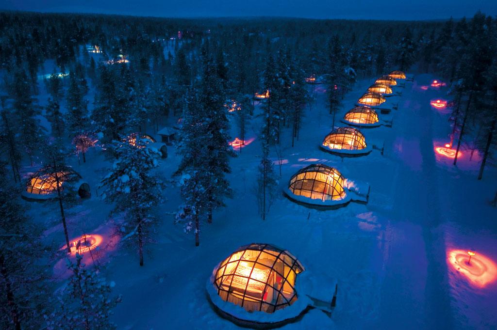 Hotel Kakslauttanen in Finland | © Greenland Travel/Flickr