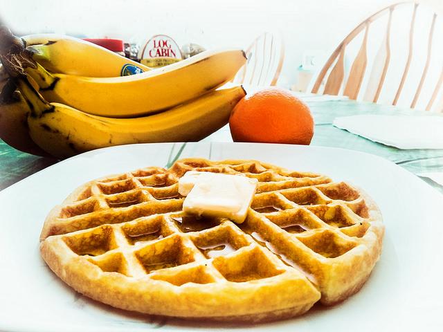 Orange Buttermilk Waffle | © Javcon117*/Flickr