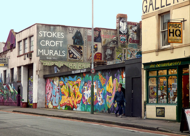 The Top 10 Things To Do And See In Stokes Croft Bristol