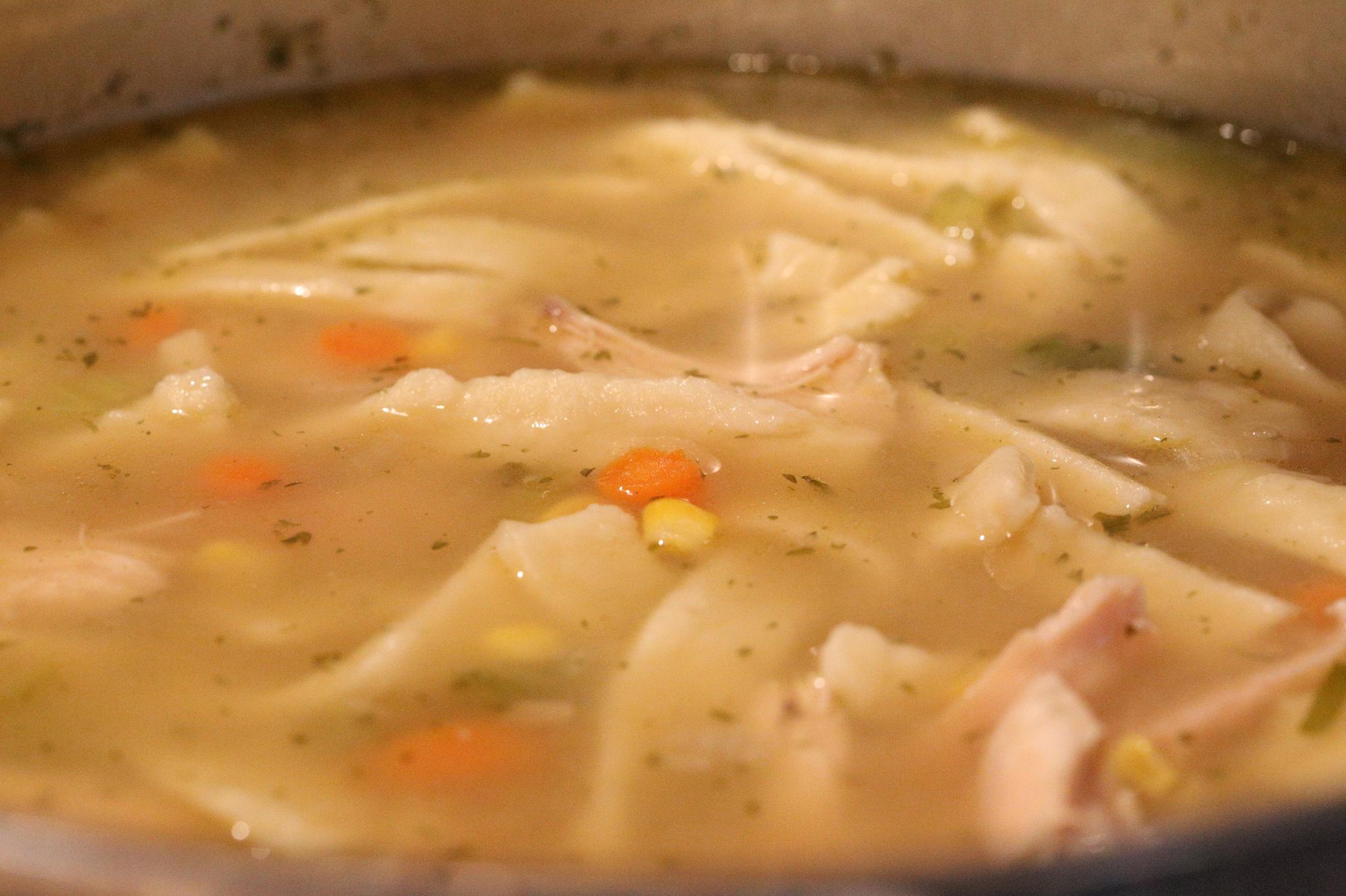 Chicken Noodle Soup | © Carol VanHook/Flickr