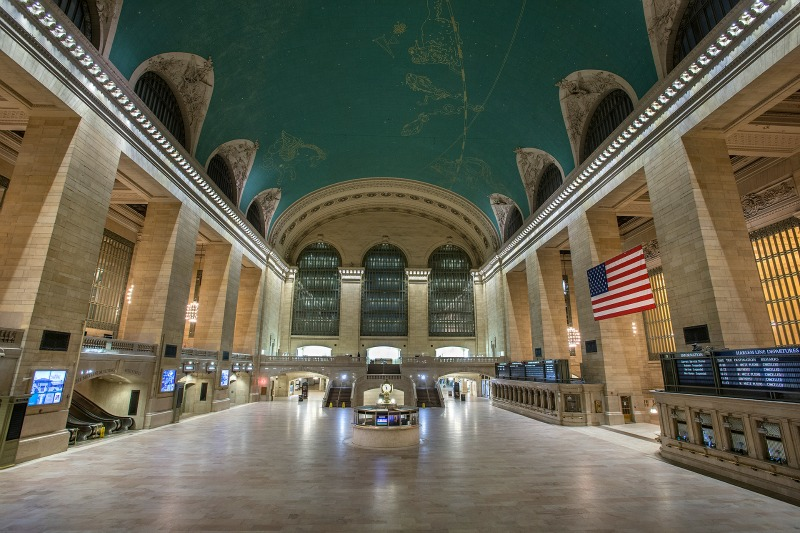 Blizzard of 2015: Empty Grand Central Terminal   © MTA of the State of New York/Flickr