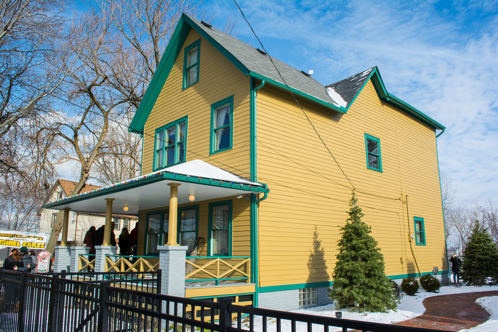 A Christmas Story House | © Tim Evanston/Flickr