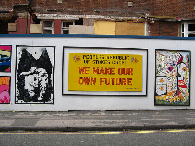 People's Republic of Stokes Croft Headquarters, Jamaica Street | © daddiochap/Flickr