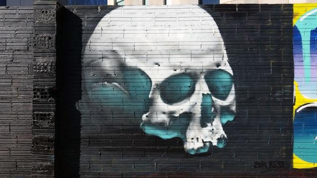 Street art featured on Barcelona Street Scraps   Courtesy of Brian Reedy
