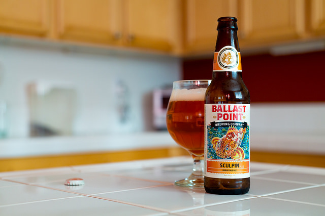Ballast Point Brewing Company - Sculpin IPA | © Four Brewers/Flickr
