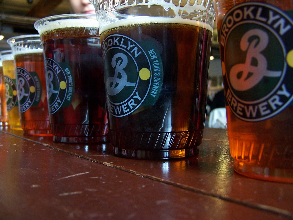 Beers of the Brooklyn Brewery | © Jeff Egnaczyk/Flickr