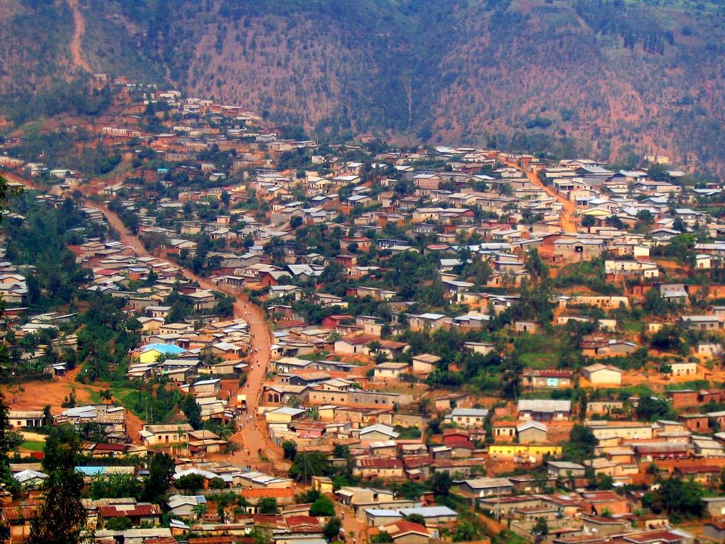 View of Kigali, Rwanda ©oledoe