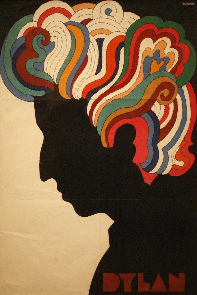 'Dylan' Poster by Milton Glaser | © David/Flickr