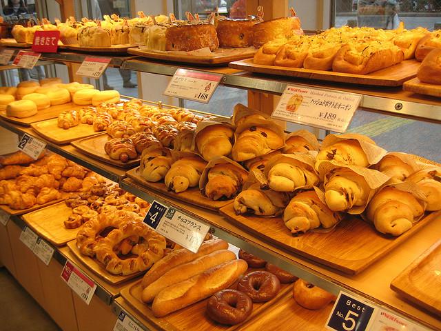 Baked Goods Selection in Osaka | © David Woo/Flickr