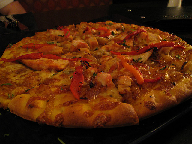 Tandoori Pizza | © Mack Male/Flickr