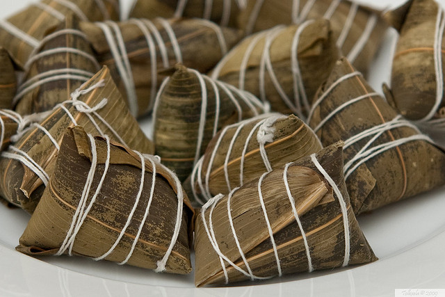 Zongzi (Rice Dumplings) | © Tolbxela/Flickr