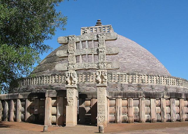 Sanchi Stupa   © Eileen Delhi/Flickr