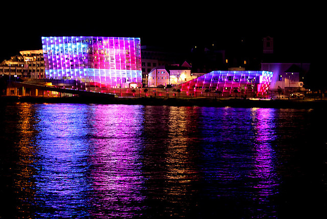 Ars Electronica Center - Night Show | © Cea/flickr