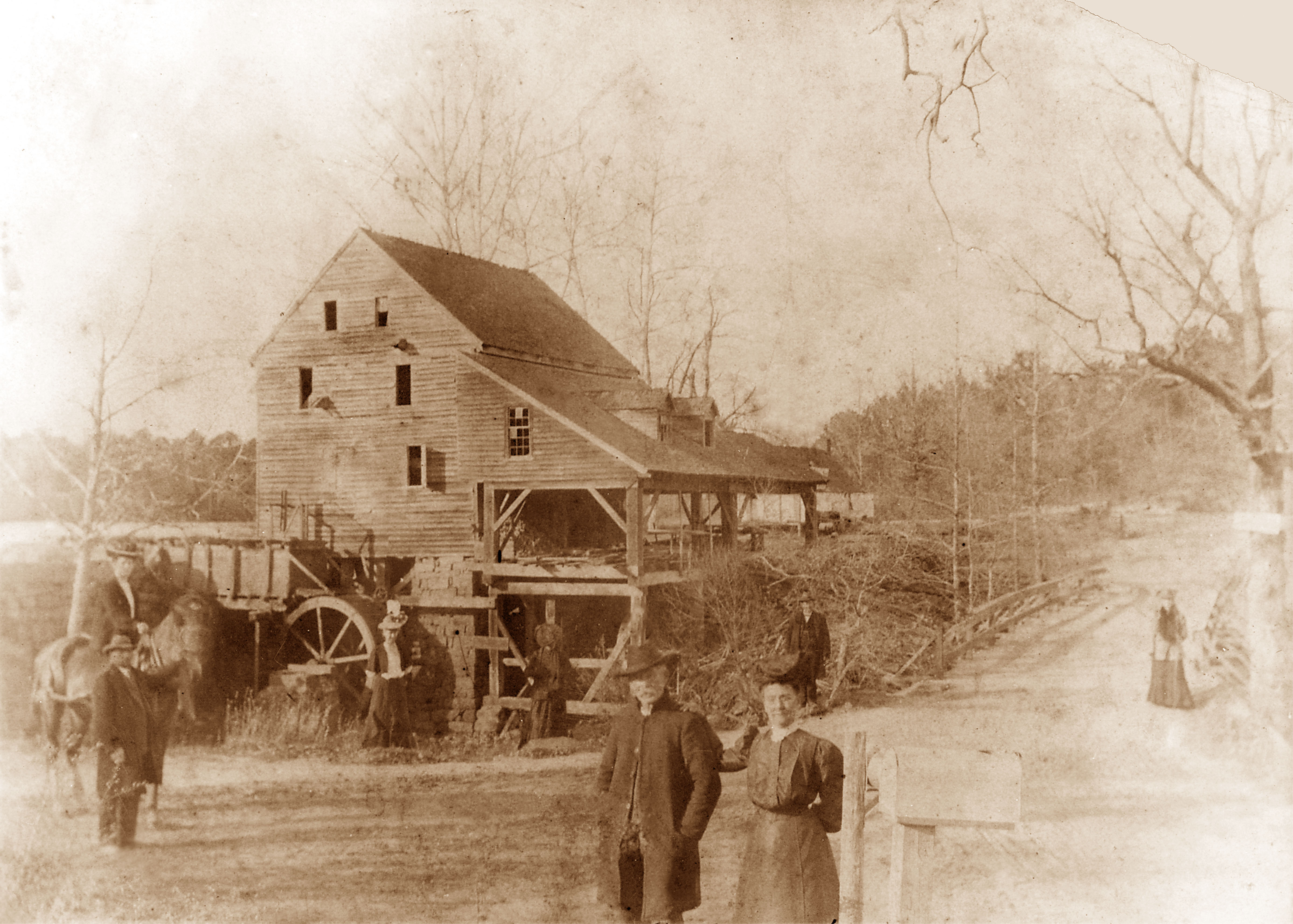 Visit to Raleigh 19th c.   Courtesy of Historic Yates Mill County Park