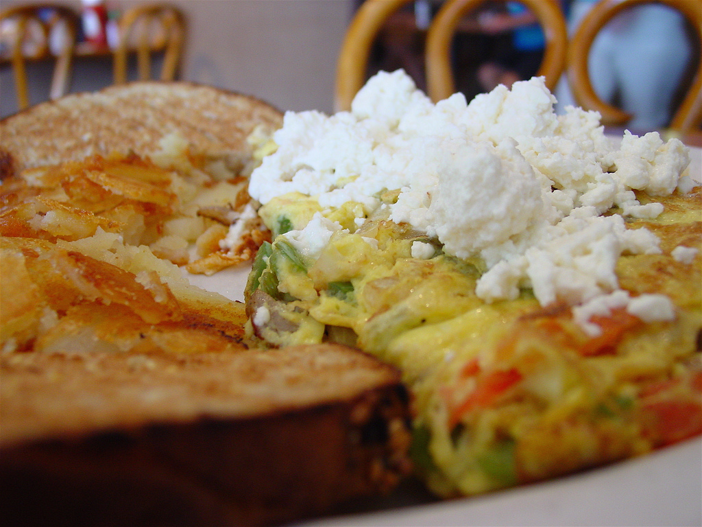 Greek Omelette©LarryHoffman/Flickr