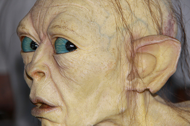 Model of Gollum at Weta Cave I © Bill Harrison/Flickr