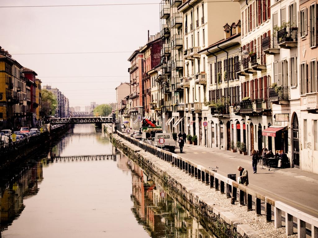 Milan, Naviglio Pavese © Luke Webber