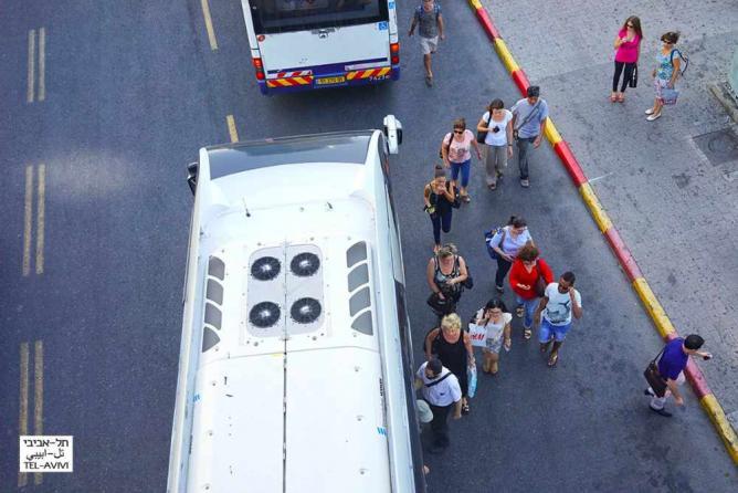 Israeli Bus courtesy of Ido Biran/Tel-Avivi