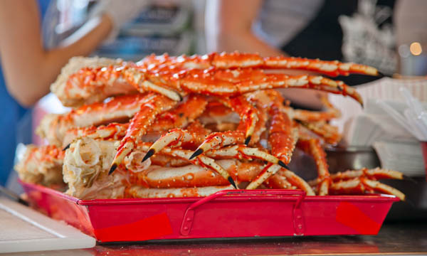 King crab | © Bill Taroli/Flickr