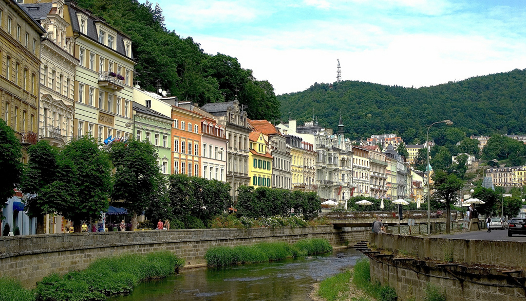 Karlovy Vary, Czech Republic | © Thomas Depenbusch/Flickr
