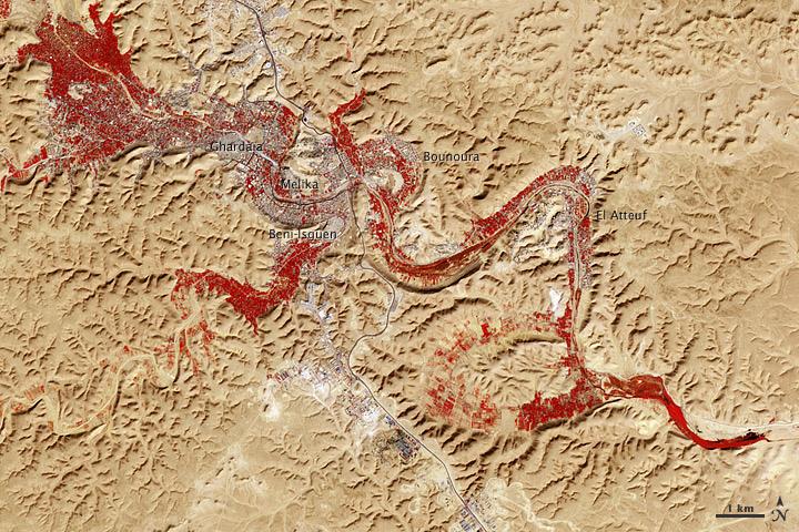 M'Zab Valley © NASA Goddard Space Flight Center/ Flickr