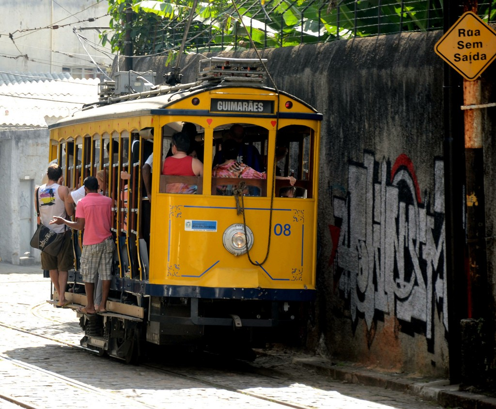 There's no better way to get to Santa Teresa from Rio's city center than on the tram © Rodrigo Soldon / Flickr