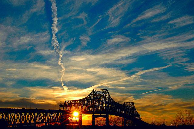 The Horace Wilkinson Bridge in Baton Rouge | © Sewtex/Wikipedia