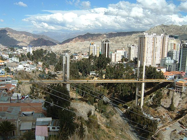 Central La Paz | © Jonik/Wikicommons