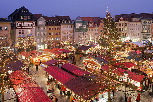 Christmas Market, Germany | © Rene S/Wiki Commons
