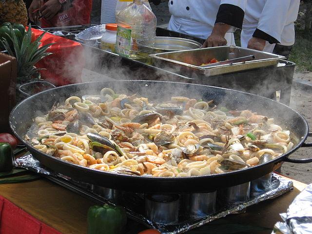 A variety of seafood | ©Jongleur100/WikiCommons