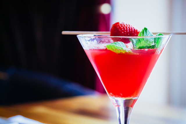 Strawberry Martini | © daspunkt/Flickr